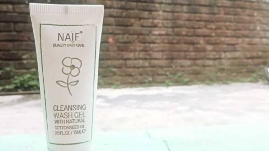 Naif Cleansing Wash Gel: Natural Ingredients, SLS Free!