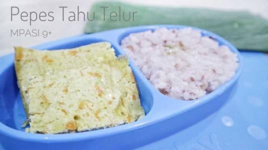 Pepes Tahu Telur (MPASI 9M+)