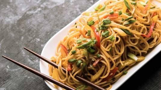 Spaghetti Goreng with Dori (12M+)