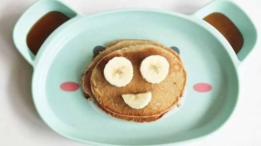 Banana Oatmeal Pancake with Honey, Sarapan Praktis untuk si Kecil