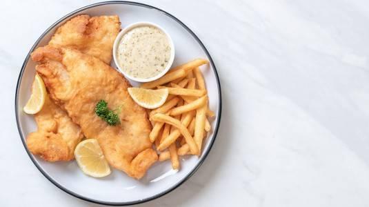 Fish and Fries ala Mom Syifa