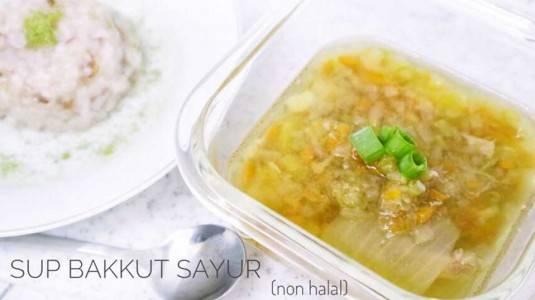 Sup Bakkut Sayur (Boost BB & Imun si Kecil)