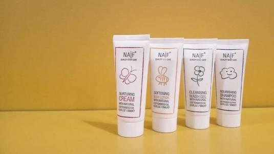 Naïf Baby, Skin care Bayi dengan Bahan Natural