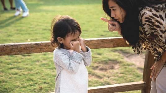 Hati-Hati ketika Hendak Marah pada si Kecil