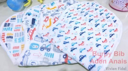 Review Burpy Bib by Aden Anais