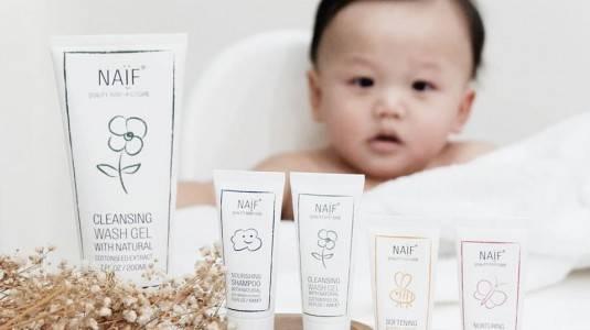Mengatasi Kulit Sensitif pada Bayi Menggunakan Produk Naïf