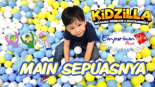 Kidzilla Playground di Emporium Pluit Mall