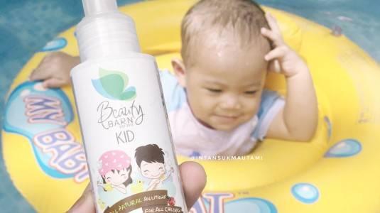 Review Beauty Barn Gentle Body Wash by Mom Intan