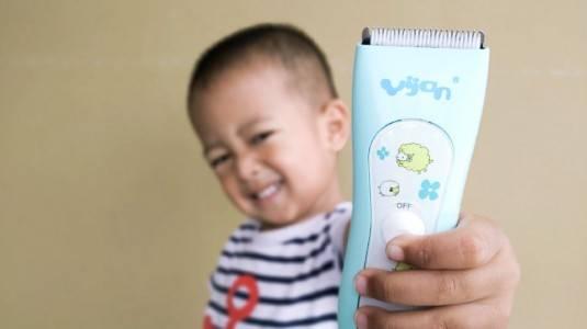 Review Kids Waterproof Hair Clipper Yijan HK888S