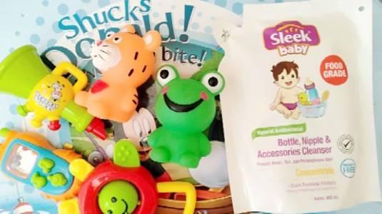 Review Sleek Baby Bottle, Nipple & Accesories Cleanser