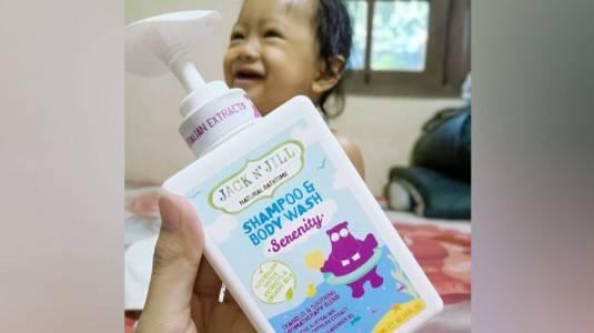 Review Serenity Shampoo & Body Wash Jack N Jill