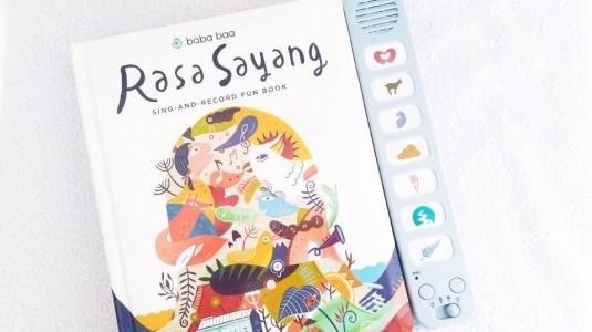 Mengenalkan Lagu Nusantara pada Anak dengan Buku Rasa Sayang