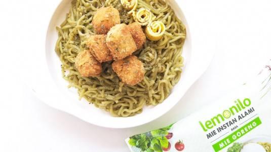 Resep MPASI Mie Lemonilo + Nugget Ayam (12M+)