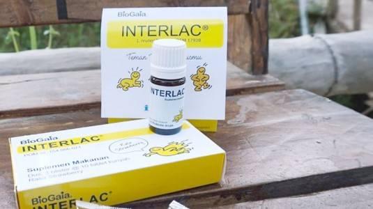 Review Interlac Probiotik Kemasan Sachet