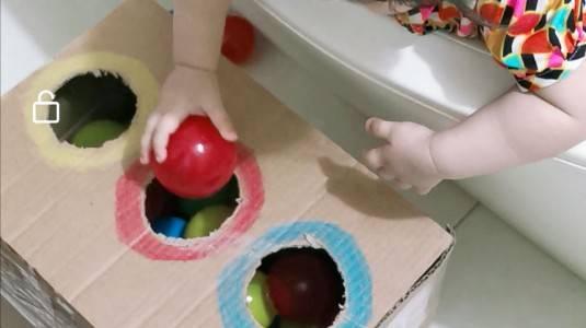 DIY Mainan Anak: Colourful Box
