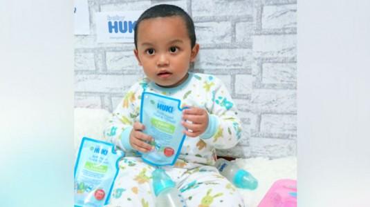 Review Liquid Cleanser dari Baby Huki