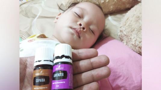 Duet Lavender dan Copaiba untuk Bayi Tumbuh Gigi