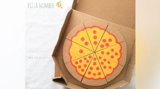 Ide Bermain Anak - Pizza Number