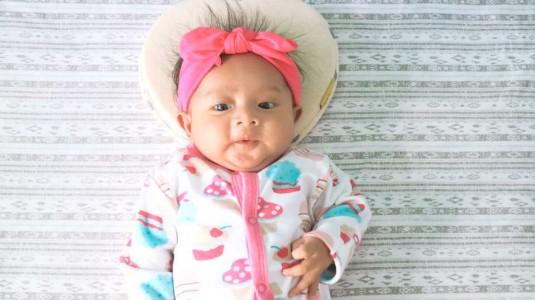 Bantal Khusus untuk Mencegah Peyang Pada Bayi