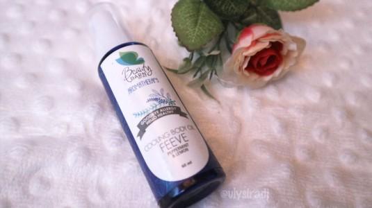 Beauty Barn FEEVE: Cooling Body Oil, Andalan Saya saat Anak Demam