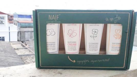 Naif Travel Kit, Perlengkapan Mandi Mungil saat Travelling