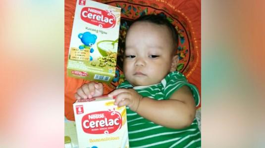 Review Nestle Cerelac Bubur Sereal: Teman Liburan Ghilman