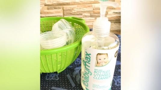 Review Sabun Babymax Baby Safe Bottle and Utensils Cleanser