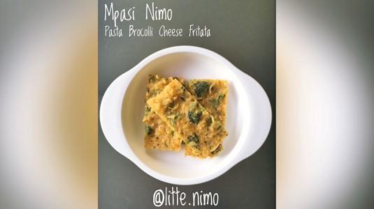 Finger Food Recipe: Pasta Broccoli Cheese Frittata