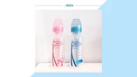 Manfaat Botol Susu Dr. Brown's untuk Bayi