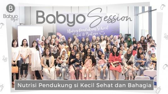 Babyo Session: Nutrisi Pendukung si Kecil Sehat & Bahagia