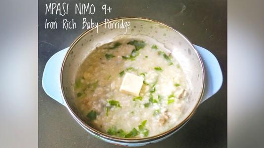 Lunch Recipe : Iron Rich Baby Porridge (10M+)