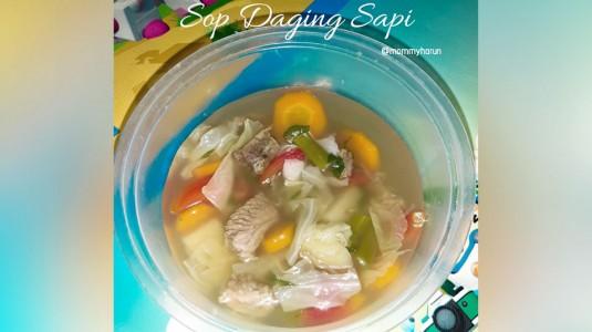 Sop Daging Sapi - MPASI (12M+)