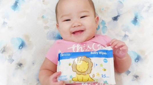 Dr. Brown's Baby Wipes, Pilihan Terbaik Untuk Anakku