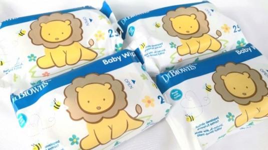 Cari Baby Wipes Yang Aman Untuk Bayi? Ya Baby Wipes Dr.browns!