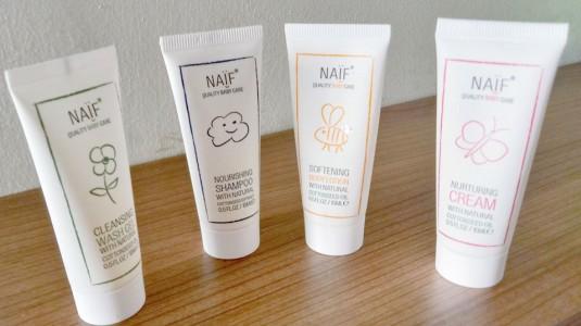 Naif Baby Travel Kit, Skincare Mungil Buat si Kecil