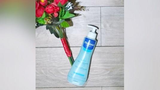 Review Mustela Cleansing Water