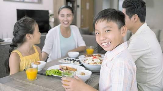 Pentingnya Makan Bersama Keluarga