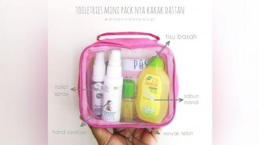 Toiletries Mini Packnya Kakak Dastan