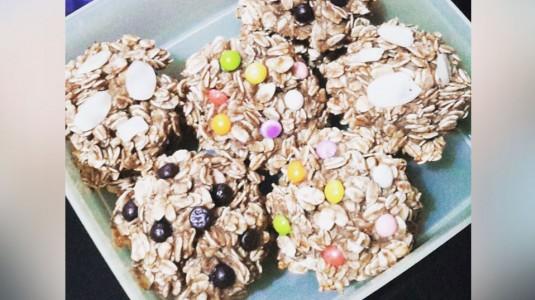Easy 2 Ingredients Lactation Cookies