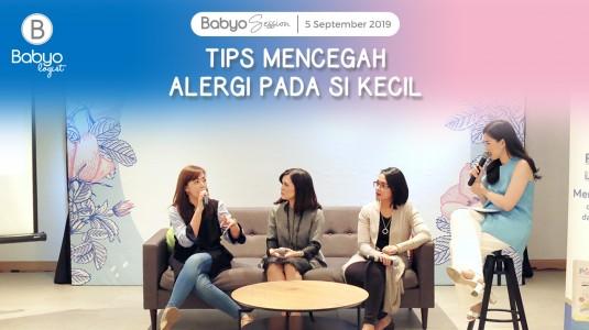 Babyo Session: Tips Mencegah Alergi pada si Kecil