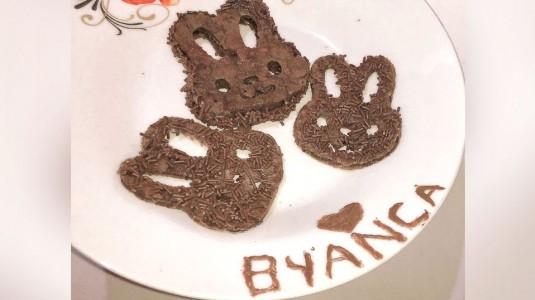 Homemade Pancake Milo Bentuk Rabbit