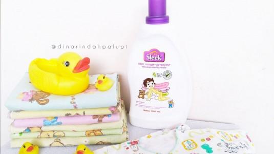 Sleek Baby Laundry Detergent, Aman untuk si Kecil