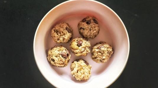 Breakfast Recipe : Energy Banana Oatball (10M+)