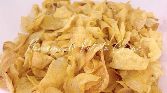 Homemade Potato Chips, Cemilan Sehat Untuk Keluarga