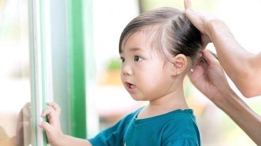 Rambut Anakku Kutuan!