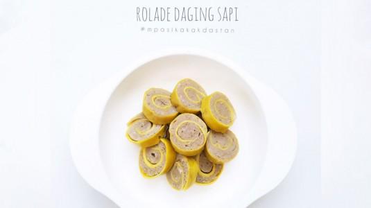 Resep MPASI Rolade Daging Sapi (12M+)
