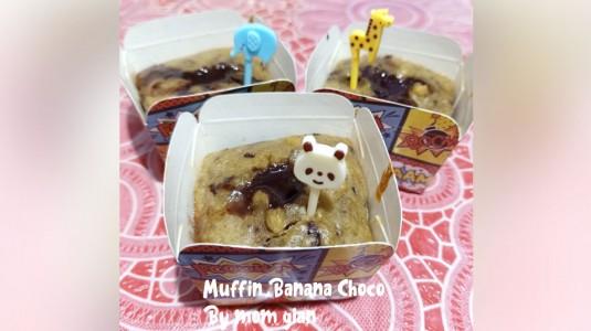 Muffin Banana Chocolate