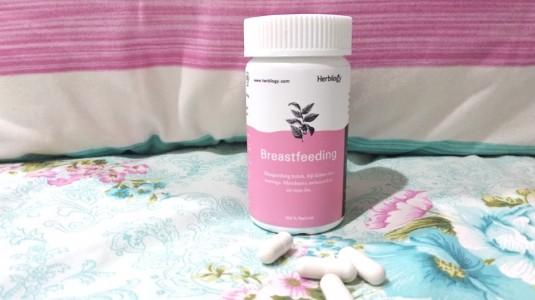 Review Herbilogy Breastfeeding Capsule