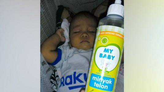 Review Minyak Telon Plus 8 Jam dari My Baby: 2 Manfaat dalam 1 Botol