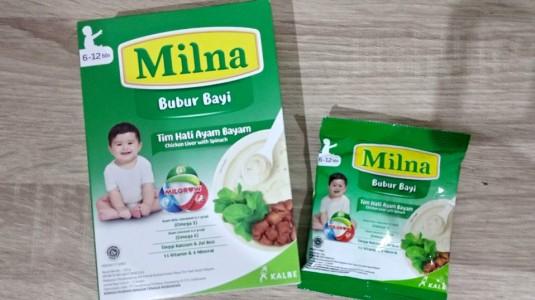 Review Milna Tim Hati Ayam Bayam